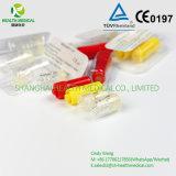 Protezione rotonda trasparente dell'eparina con buona qualità ed il prezzo poco costoso