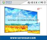 Tela video de emenda magro estreita da parede da moldura 47inch 55inch LCD da ceia