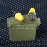 Enchufe de oído militar del gel del silicón del auricular de la durabilidad y la aspereza