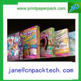 Feder-Süßigkeiten-Süßigkeit-Schokoladen-Verpackungs-Papierkasten des Soem-Bevorzugungs-Farben-kosmetischer Duftstoff-Verfassungs-Haut-Sorgfalt-Geschenk-Kleinverpacken-kundenspezifischer Benks