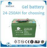 60W de batterij begroef Hoge LEIDENE van het Ontwerp van het Lumen ZonneStraatlantaarn