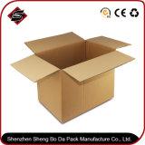 주문을 받아서 만들어진 광택 있는 초 마분지 서류상 포장 물결 모양 판지 상자
