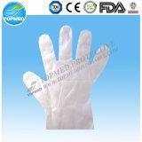 Guantes de HDPE/LDPE, guantes plásticos disponibles del PE