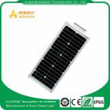 25W integriertes LED Solarstraßenlaternemit Mikrowellen-Radar-Fühler