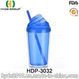 Оптовые BPA освобождают пластичный Tumbler мороженного с сторновкой (HDP-3032)