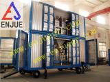 Сдвоенная линия Containerized весить формы и кладя в мешки заполняя блок