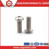Hex Pilz-Kopf-Maschinen-Schrauben der Kontaktbuchse-Ss304