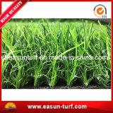 Hierba artificial decorativa que cultiva un huerto