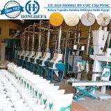 Ensemble complet le gruau de maïs Machinerie de traitement pour l'Afrique