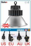 High Lumens 5 anos de garantia Alumínio 100 Watt 100W LED High Bay Lamp com UE Us Au UK Plug