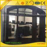 Frame van het Aluminium van Customzied het Poeder Met een laag bedekte voor het Venster en de Deur van het Glas