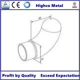 Finition du tube en acier inoxydable pour barrière de verre Balustrade Main courante