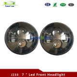 "Jeep 7 ""Black Daymaker Style LED Projection Headlight"