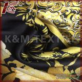 柔らかい様式16mm純粋な絹のCharmeuseのサテンによって印刷されるファブリック