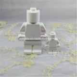 Difusor de cerámica perfumado del aroma del coche de la robusteza blanca (AM-140)