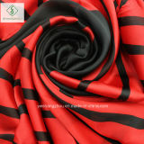 2017 новейший печатаются в полоску шаль леди мода шифон шелковые шарфы