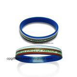 Wristband promozionale personalizzato del silicone del regalo (WD06)