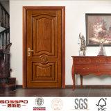 Puerta de entrada interior principal del frente de madera sólida de la casa (GSP2-75)
