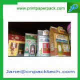 OEM Vakje van het Document van de Verpakking van de Chocolade van het Suikergoed van de Banketbakkerij van de Pen van Benks van de Douane van de Kleinhandels Verpakking van de Gift van de Zorg van de Huid van de Samenstelling van het Parfum van de Kleur van de Gunst het Kosmetische