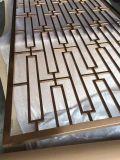 Reticolo di taglio del laser dello schermo dell'acciaio inossidabile del divisorio del portello del metallo