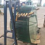 De horizontale CNC Oppoetsende Machine met 3 assen van de Rand van het Glas voor het Meubilair van het Glas