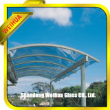Le verre feuilleté pour les puits de lumière du fabricant de avec la certification
