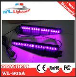 Lumière d'avertissement de visière à LED