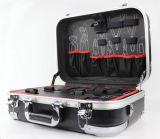 Fábrica de venda direta de alumínio moldado rígido caixa de ferramentas de plástico com palheta de ferramentas (KeLi-ABS-15)