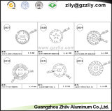 Koeler van het Profiel van het Aluminium van Zhilv van Guangzhou de Gietende