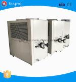 Linha plástica refrigerador industrial de refrigeração ar de Peletizer da água do compressor de Copeland