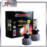 Bluetooth制御を用いる極度の明るい40W 4800lmのハイ・ロービームH4自動RGB車LEDライト