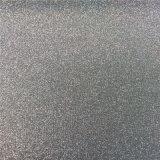 Couro do PVC do Glitter para as sapatas (HS-M306)