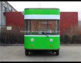 Электрический передвижной Ед-Продавая автомобиль с платформой кухни и оборудованный с передвижным автомобилем трактира