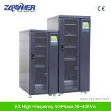 De Online 3/3phase IGBT Gelijkrichter van de hoge Frequentie UPS Ex33 20kVA-80kVA