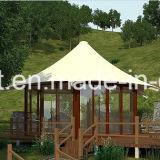 De sterke het Kamperen van het Frame van het Metaal van de Structuur Tent van Glamping van de Tent