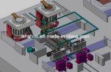 С программируемым логическим контроллером средних частот индукционные печи плавления алюминия и машины