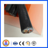 Кабель резиновый оболочки электрический для общего пользования