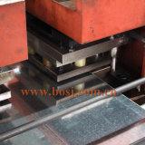 T horizontal calificado ensanchó rodillo galvanizado de la bandeja de cable que formaba la máquina