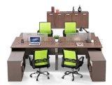 Hölzerner Entwurfs-modularer Standardgrößen-Zelle-Büro-Partition-Arbeitsplatz (SZ-WST726)