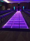 Bons carrelages allumés par DEL de mélange de couleur de l'effet de la lumière RVB en vente