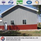前に設計された電流を通された鋼鉄コラムの鋼鉄構築の工場倉庫