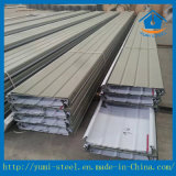 Folha de metal de metal corrugado de alumínio para revestimento de parede ou telhado