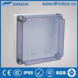 Caja de conexiones resistente al agua los tornillos de plástico Caja de conexiones IP65 200*200*80mm