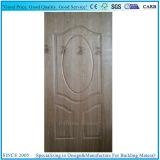 Chapa de madera Sapeli Natural moldeado 6 Panel de la piel de la puerta de madera contrachapada