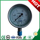 Ytn-100h y llena de aceite Shock-Proof Manómetro con aleación de cobre