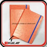 Caderno de livro de couro de marca personalizado
