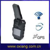 Cámara desgastada carrocería impermeable DVR (OX-ZP610) de la policía del GPS GPRS