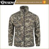 Camouflage désert des hommes shirt respirable ultra-léger de la peau Shirt pour hommes