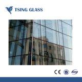Mur rideau en verre isolé / verre creux / Verre Double vitrage