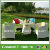 Rieten Tables en Chairs voor Cafes